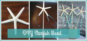 DIY Starfish Wand tutorial