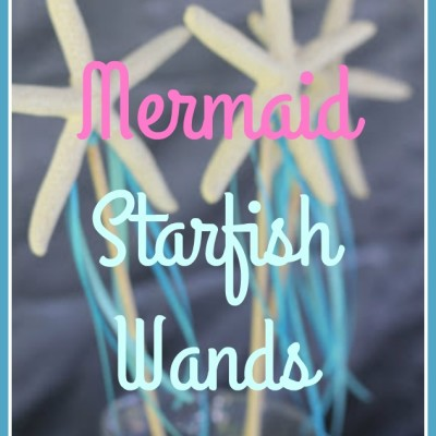 Mermaid STARFISH Wand