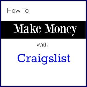 make money with craigslist