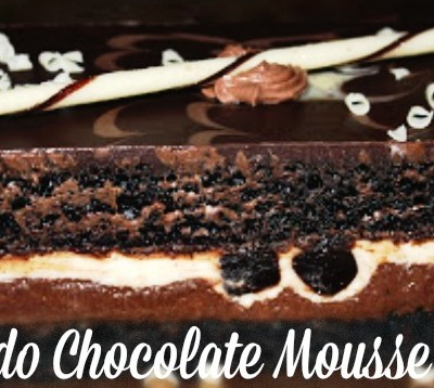 Tuxedo Chocolate Mousse Cake – I found this at Costco!