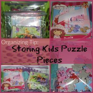 Kids Puzzle Organization