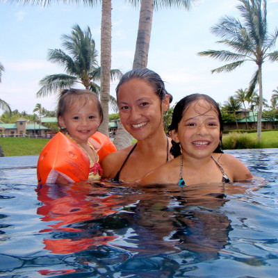 Pool Days at the Fairway Villas in Waikoloa