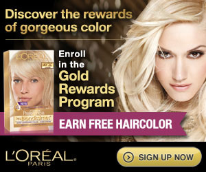 Get FREE Hair Care products from L'Oreal