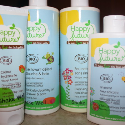 Happy Future USA Baby Skincare Products Review and Giveaway
