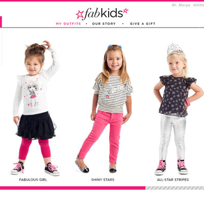 $25 for a 3 piece outfitt for your daughter at FabKids