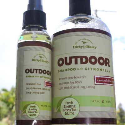 Review: Dirty & Hairy Outdoor Shampoo and Outdoor Spray