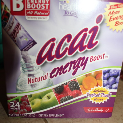 Review: Acai Energy Boost & High Octane Energy Chews from To Go Brands