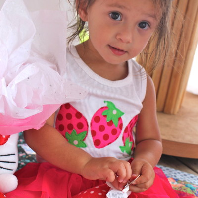 Strawberry 2nd Birthday Party