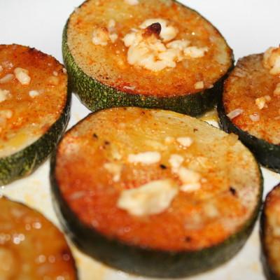 Baked Paprika & Feta Zucchini