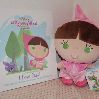 MY1STORY Lil' Riding Hood & Wolfie in I Love Cake! + Lil' Riding Hood Plush Review *2012 Holiday Gift Guide*