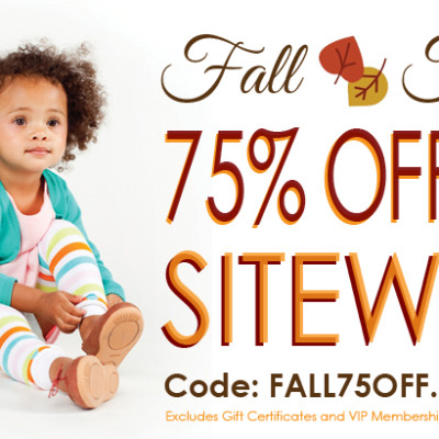 BabyLegs 75% OFF a $75 purchase!