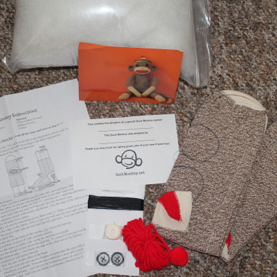 Do It Yourself Sock Monkey Kit Review & Giveaway *2012 Holiday Gift Guide*