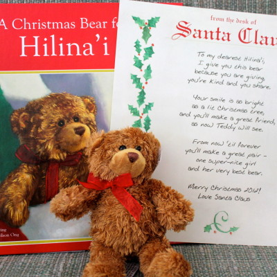 A Christmas Bear For Me Personalized Book Gift Set *2012 Holiday Gift Guide*