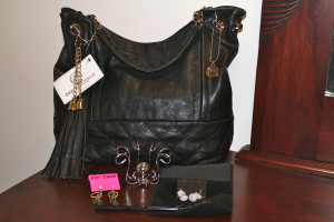 little black bag reveal, big buddha quilted tote