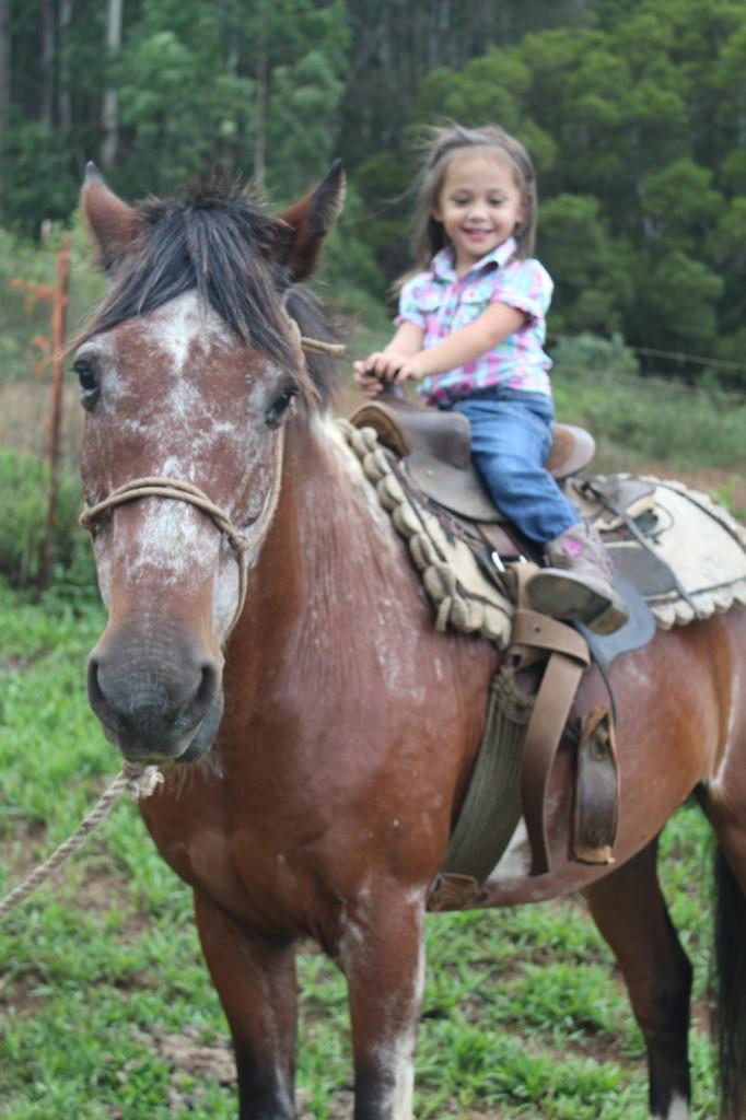 kanai'a horseback