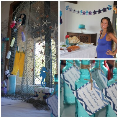 My Sister's Mermaid Themed Baby Shower
