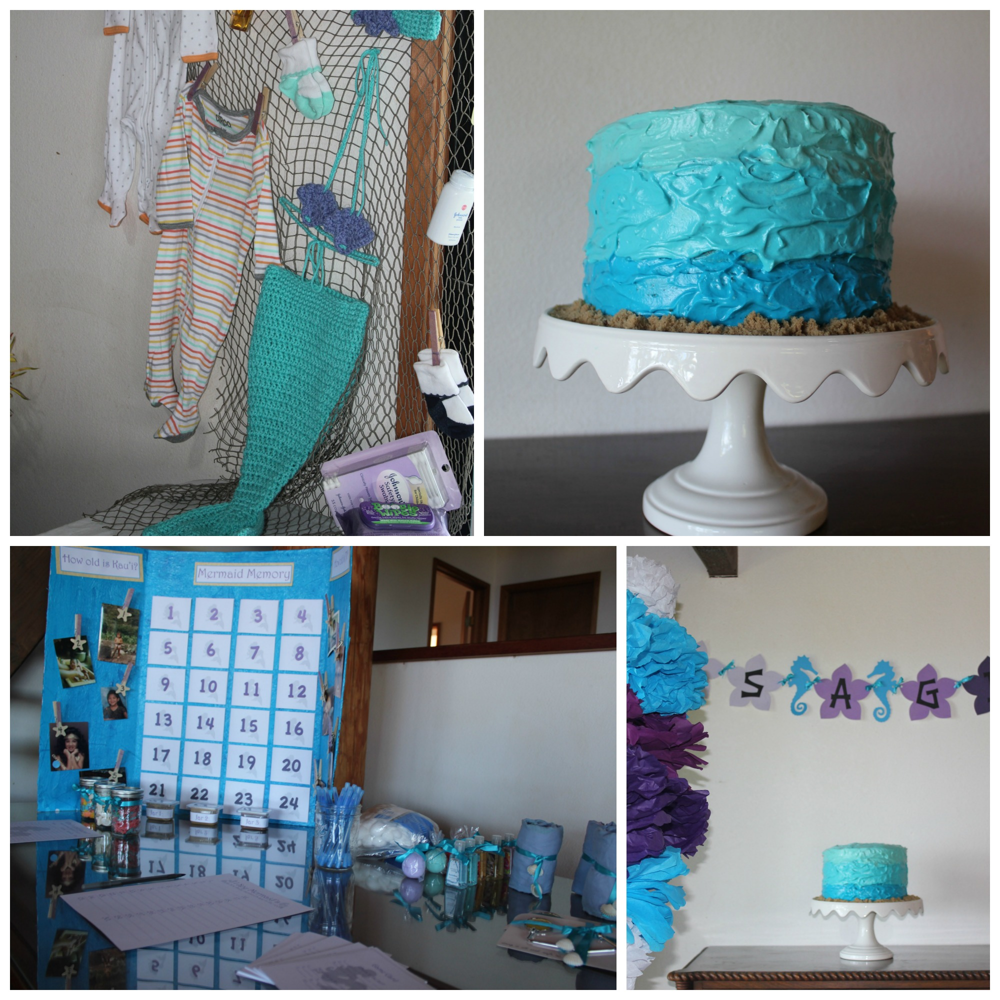 My Sister s Mermaid Themed Baby Shower