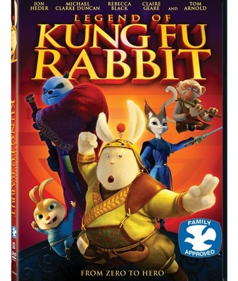Legend Of Kung Fu Rabbit DVD Review and Giveaway
