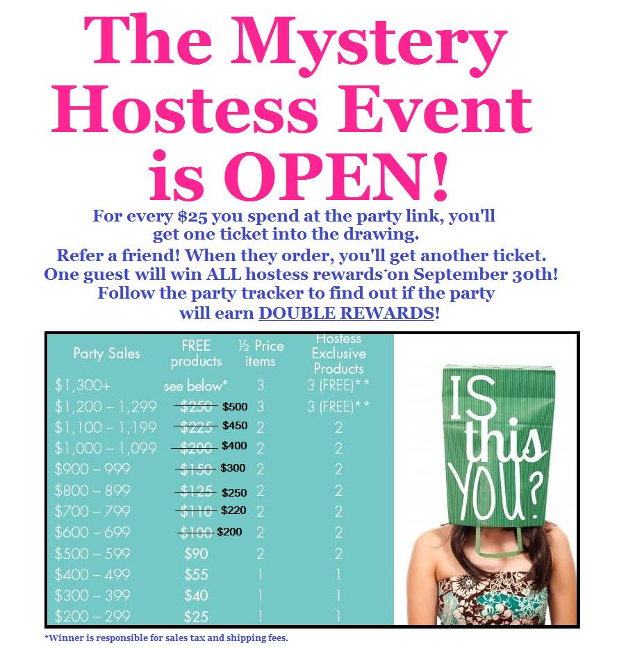 thirty-one gifts mystery event