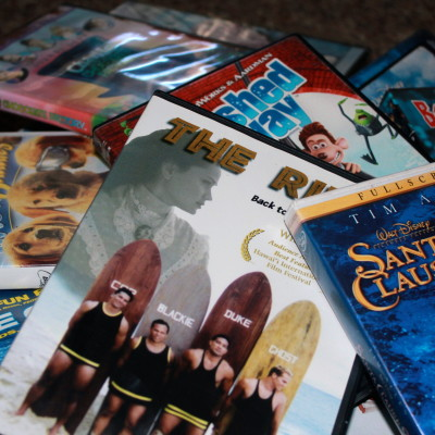 Decluttering – Clearing out the DVDs