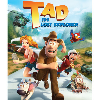 Tad The Lost Explorer DVD Review & Giveaway