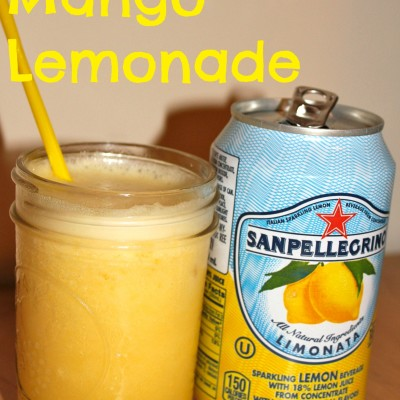 Icy Mango Lemonade