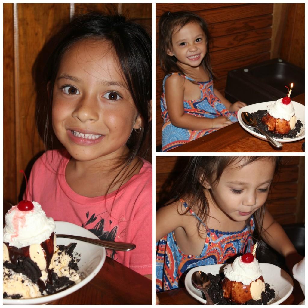 outback birthday sundae