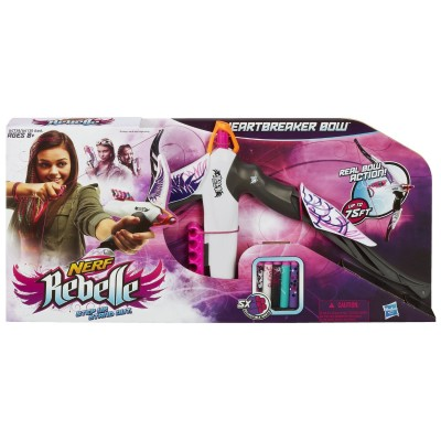 Nerf Rebelle Heartbreaker Bow Review *2013 Holiday Gift Idea*