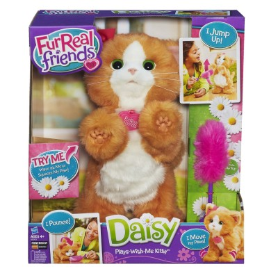 FurReal Friends Daisy Plays-With-Me Kitty Review *2013 Holiday Gift idea*