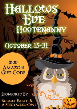 Hallows Eve Hootenanny – $100 Amazon Gift Card Giveaway
