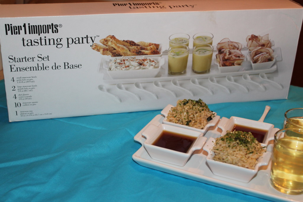 pier 1 tasting party