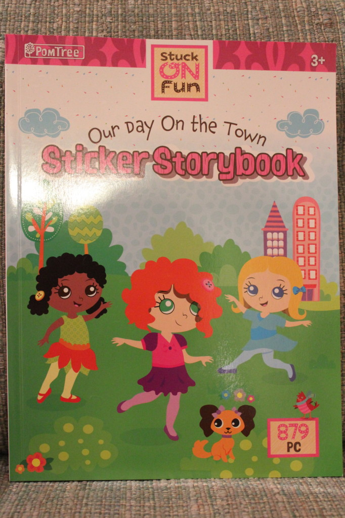 sticker storybook