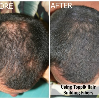 Review: Toppik Hair Building Fibers for Balding and Thinning Hair