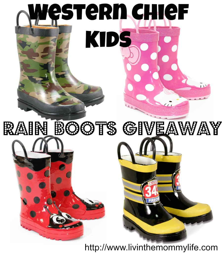 western chief boots giveaway