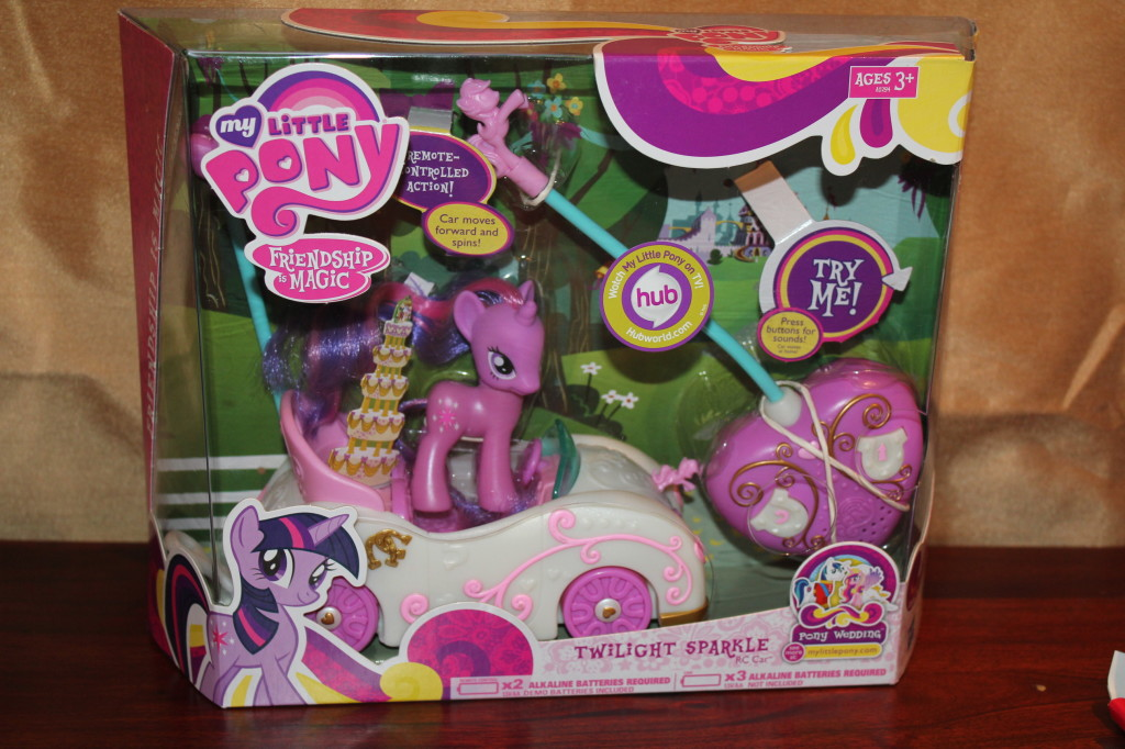 little pony twilight sparkle rc car