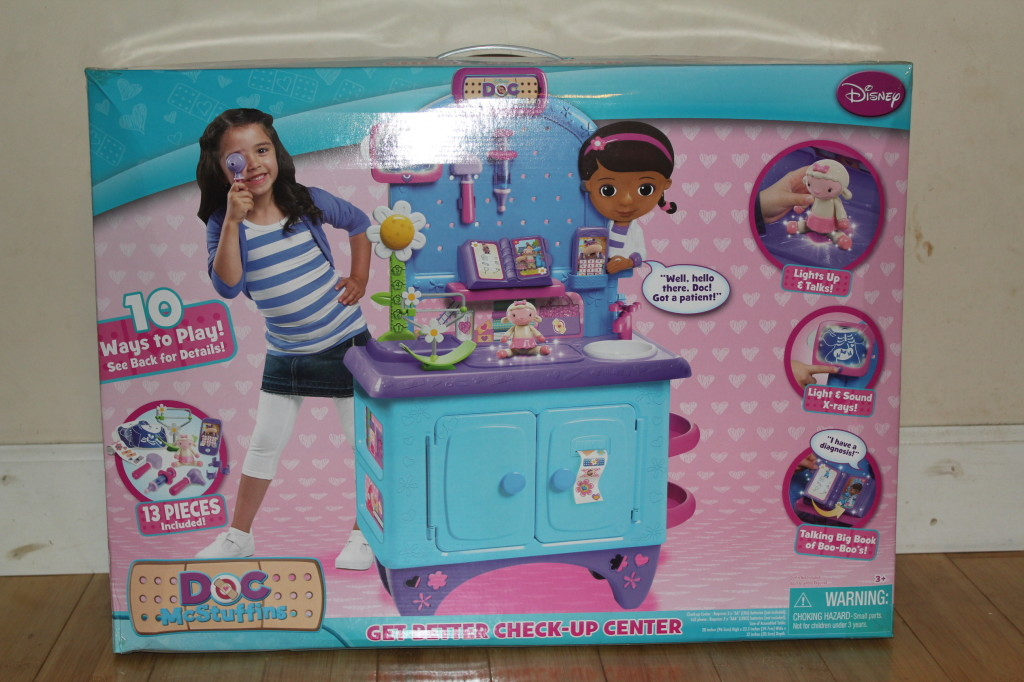doc mcstuffins check up center