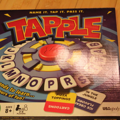 Tapple Game *2013 Holiday Gift Idea*