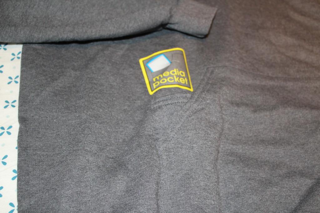 hoodie media pocket