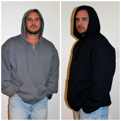 Fruit Of The Loom Men's Fleece Full Zip & Pullover Hood *2013 Holiday Gift Idea*