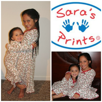 Kids Christmas Nightgowns from Sara's Prints