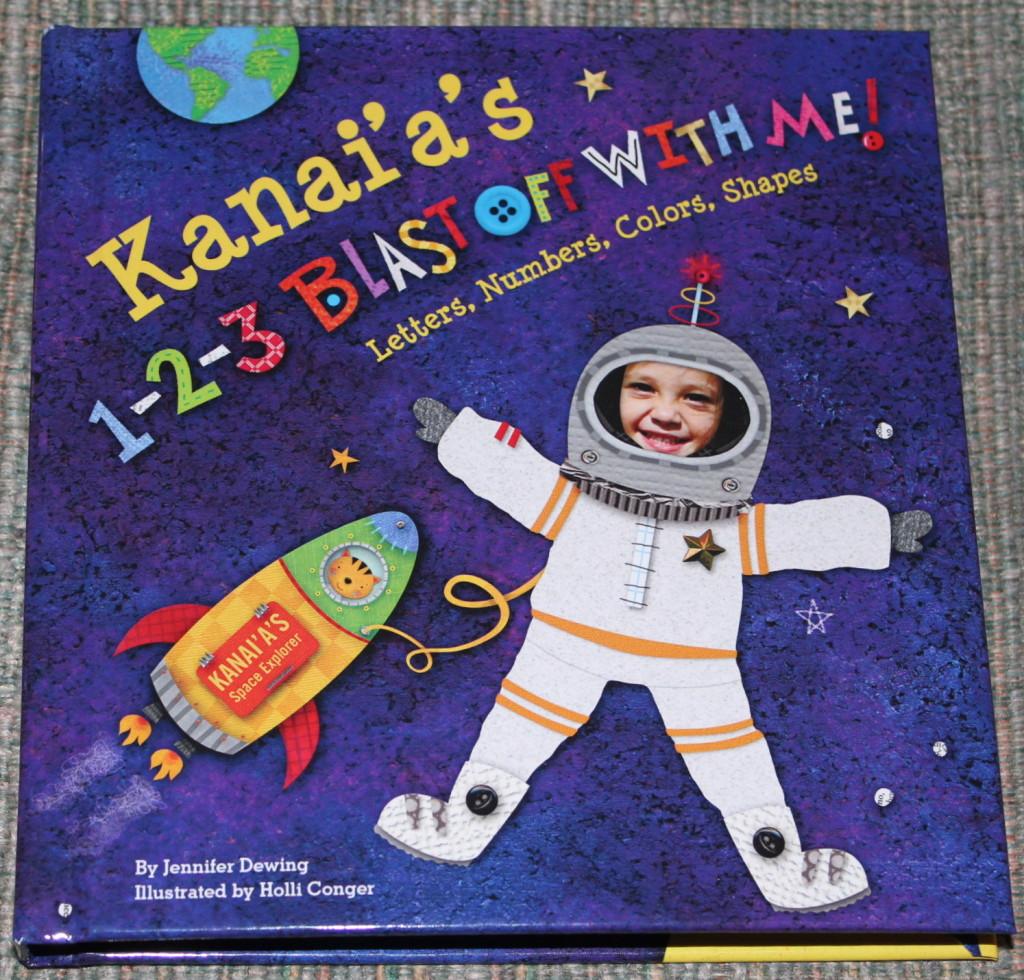 personalized children's board book