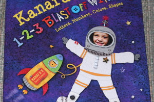 1-2-3 Blast Off With Me – Personalized Children's Book *2013 Holiday Gift Idea*