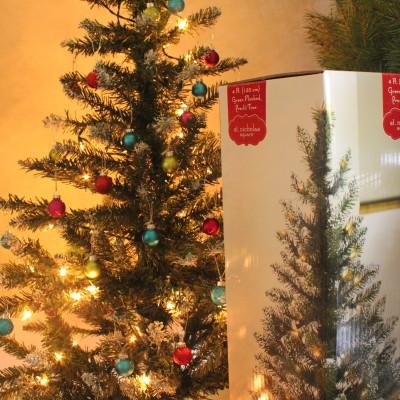 4 Ft. Green Flocked Pre-lit Christmas Tree from Kohl's