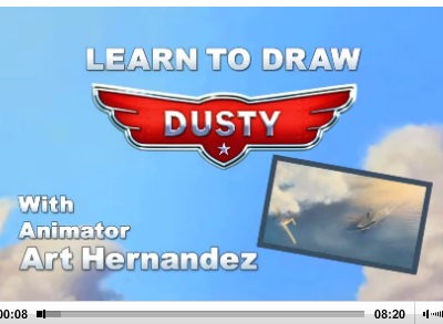 How to Draw Dusty from Disney Planes
