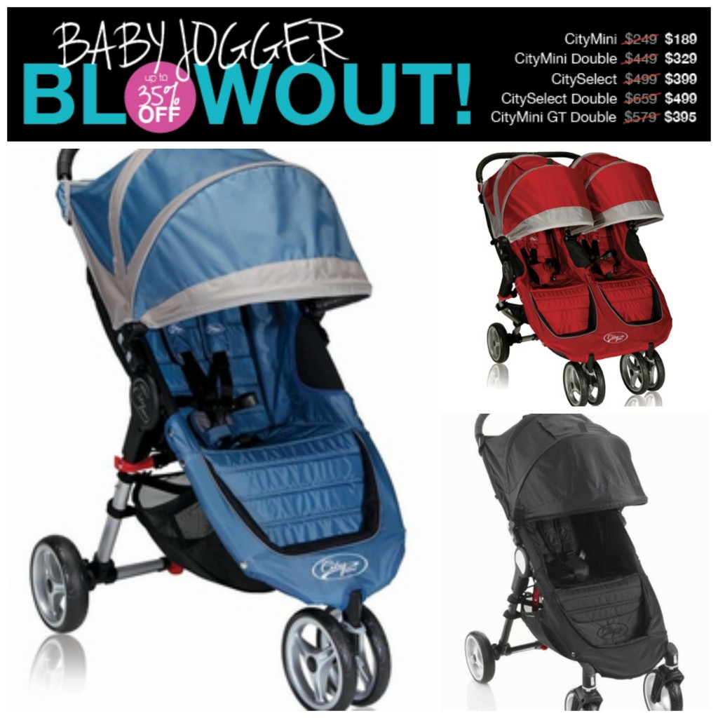 baby jogger blowout