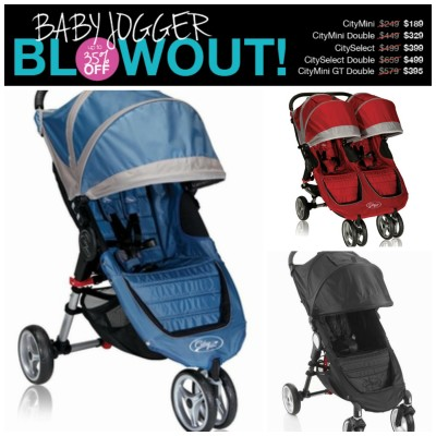 Year End Baby Jogger Blowout @ Pish Posh Baby