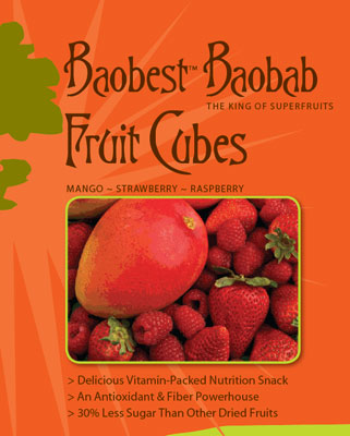 baobab fruit healthy breakfast with fruit