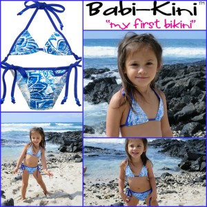 babi-kini - Bikini for Kids and Babies