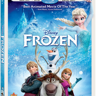"Frozen Blu-ray Combo Pack Review + a Clip of Elsa singing ""Let It Go"""
