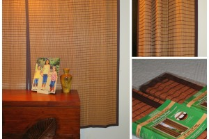 Bamboo Ring Top Curtains from Curtain & Bath Outlet